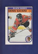 Denis Savard 2nd Year 1982-83 O-PEE-CHEE Hockey #73 (EXMT)