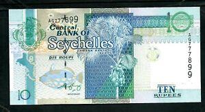 Seychelles (P36) 10 Rupees 1998 UNC