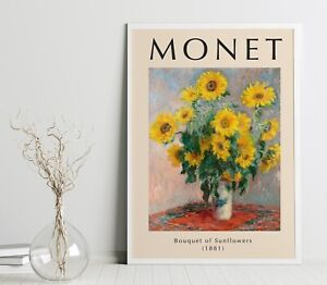 Vintage Claude Monet A3 Poster, Wall Art, Prints for Walls, Vintage Prints