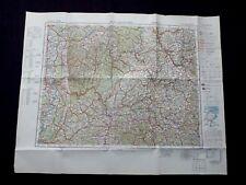 Landkarte von Europa, Blatt L 50 Darmstadt, Würzburg, Heilbronn, Grailsheim 1944