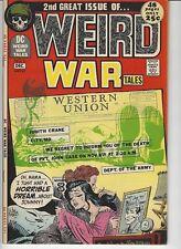 Weird War Tales #2 VF Kubert Silver Age DC