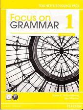 Focus on Grammar 1 Teacher's Resource Pack with CD-ROM - BRAND NEW