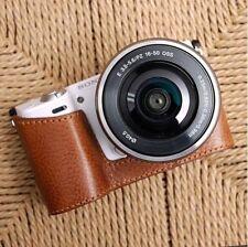 CIESTA Leather Camera Body Case [Brown] for Sony NEX-5R/5T