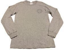Taylor Swift 1989 Womens Gildan T-Shirt Gray Heathered Long Sleeve World Tour S