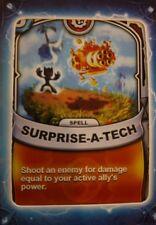 Skylanders Battlecast Collector's Card Spell Surprise-A-Tech