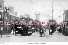 CU 201 - Warwick Road, Carlisle, Cumbria, Cumberland c1917 - 6x4 Photo