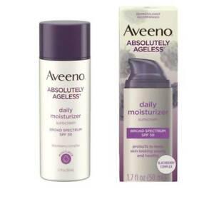 Aveeno Absolutely Ageless Antioxidant Moisturizer, SPF 30, 1.7 OZ, EXP 05/2023