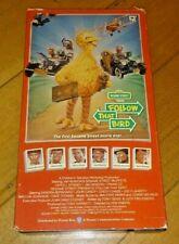Follow That Bird Sesame Street VHS