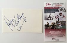 Morgan Brittany Signed Autographed 3x5 Card Jsa Certified Dallas