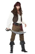 Rogue Pirate sea nautical Caribbean movie Mens Costume XL CCC00827