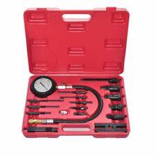 vidaXL 17 Piece Compression Tester Diesel Engine Motor Vehicle Leakage Tool