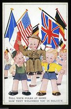 Belgian Collectable WWII Military Postcards (1939-1945)