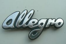 AUSTIN ALLEGRO sigle embleme logo insigne monogramme de carrosserie en aluminium