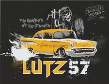 2017 Jeff Lutz Stainless Works '57 Chevy PRI Show Promo Street Outlaws postcard