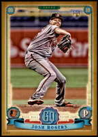 Josh Rogers 2019 Topps Gypsy Queen 5x7 Gold #43 RC /10 Orioles