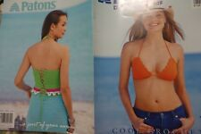 Paton's Cool Crochet Book 954 Summer Bathing Suits ++