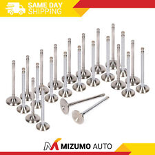 Intake Exhaust Valves Fit 91-99 Mitsubishi Dodge 3.0 6G72 6G72T 6G74