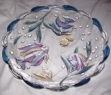 "Vintage 15"" Mikasa Studio Nova Nautical Beach Tropical Fish Heavy Platter"