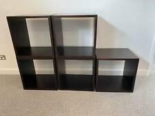 Shelving Cubes x 5 (44cm x 44cm each)