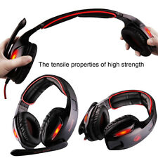 Universal Sades7.1 Stereo-Headsets Surround-Sound-Gaming-Kopfhörer MIC