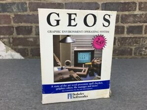 GEOS Operating System (Commodore 64/128, 1986) | Berkeley Softworks