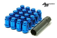 20 Pc HONDA BLUE SPLINE TUNER LUG NUTS 12m x 1.50 With KEY Part # AP-5655-BLUE