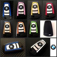 BMW Keys Carbon Decal Sticker Fob Wrap Overlay 1 2 3 4 5 6 Series X M F10 F20 F