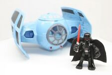 Playskool Jedi Force Star Wars Galactic Heroes Tie Fighter w/ Darth Vader Sith
