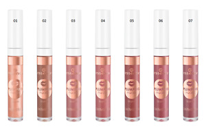 Essence Plumping Lip Gloss Nudes with Shea Butter Shiny *Choose Shade*