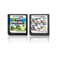 MARIO KART DS+Super Mario Bros Game Card For Nintendo 3DS DSI DS XL Xmas Gift US