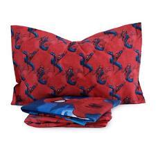 Completo lenzuola Ultimate Spiderman Marvel in flanella Singolo una piazza Q164