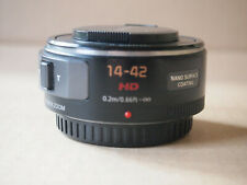Panasonic Lumix Pancake Powerzoom 14-42 mm f/3,5–f/5,6 MFT-Objektiv (schwarz)
