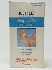 (1) Sally Hansen Just Feet DEEP CALLUS REMOVER Lavender Tea Tree Oil