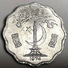 # C2487     PAKISTAN    COIN,     10  PAISA   1974