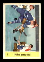 1958 Parkhurst #1 Bob Pulford IA ! VGEX X1498400