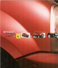 Renault Kangoo Trekka 4x4 2001-02 UK Market Foldout Brochure 1.6 16v 1.9 dCi