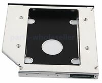 2nd HD Hard Drive HDD SSD Caddy Adapter for TOSHIBA Satellite L850 C850 C850-1H8