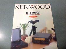 Kenwood TS570DG Multi page produit notice d'origine