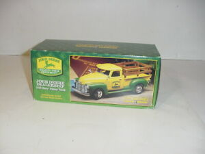 1/25 John Deere Dealership 1950 Chevy Pick-Up Truck NIB! Never Opened!