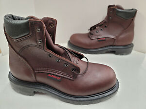 """Red Wing SuperSole 2.0 6"""" Soft Toe EH Hazard Resistant Boots 606 MADE IN USA"""