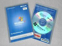 Microsoft Windows XP Professional SP3 RFB Full Version CD, Pro COA & Product Key