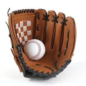 Kids Adults Right Hand Throw Catchers Baseball Mitt Glove11.5 inches soft guanti