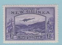 PAPUA NEW GUINEA C44 MINT HINGED OG * NO FAULTS EXTRA FINE !