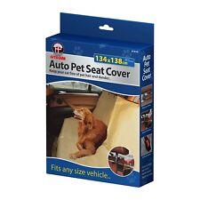 Impermeable auto posterior asiento de coche perro mascota Tapa Forro Lavable Hamaca de viaje Mat