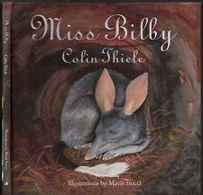 MISS BILBY - COLIN THIELE Illustrations By Mavis Stucci HC Rare Children's Book