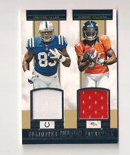2012 PROMINENCE DWYANE ALLEN / RONNIE HILLMAN UNLIMITED POTENTIAL  DUAL JERSEY