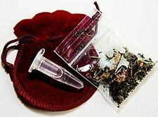 Real Authentic Wiccan HooDoo Mojo spell gris gris bag @