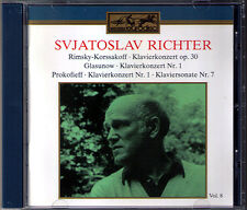 Sviatoslav Richter: Rimsky-Korsakov Glazunov Prokofiev CONCERTO CD Kondrashin