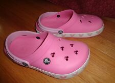 9b9b1d9ce4b7b6 Girl Pink CROCS Minnie Mouse Size 3 Junior Youth Foot 8.2