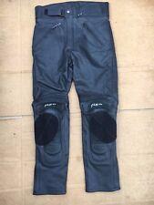 "FIGO Mens Leather Motorbike  Motorcycle Trousers Size UK 32"" Waist 30"" leg (LBG)"